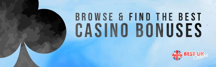 browse and find casino bonuses